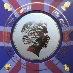 1998 Brilliant Uncirculated Coin Collection for sale